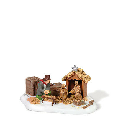 Dept 56 NEV SETTING UP THE NATIVITY Accessory 807247 NEW D56 New England Village