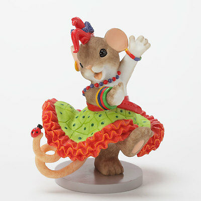 Charming Tails This Girl Just Wants to Have Fun figure 4033016 NEW Enesco NIB