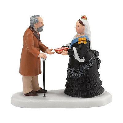 Dept 56 Dickens Accepts Queens Highland Journal Village Accessory NEW 4030375
