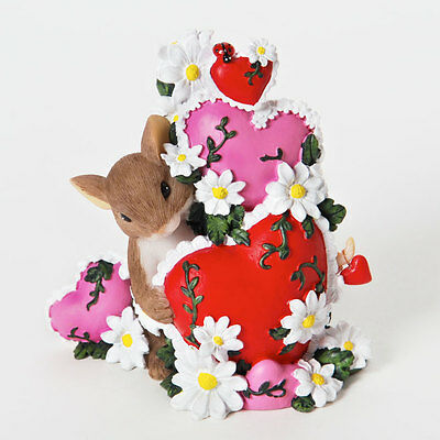 Charming Tails I Have So Much Love For You Mouse Heart Figure 4025755 Valentines