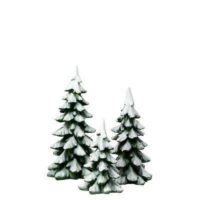 Department 56 WINTER PINES Set of 3 4020261 Christmas Village D56 NEW Dept 56
