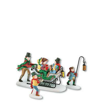 Dept 56 Dickens CAROLING WITH THE CRATCHIT FAMILY Accessory D56 Village 58396