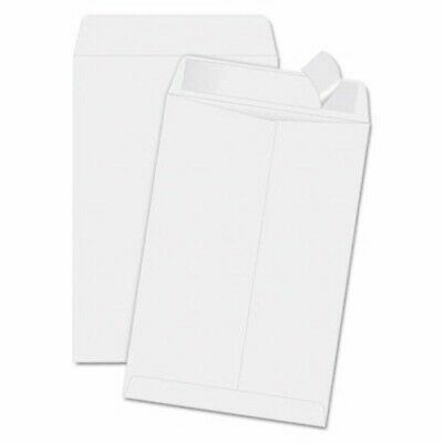 Quality Park Redi-Strip Catalog Envelope, 6.5 x 9.5, White, 100/Box (QUA44334)