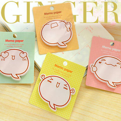 Fun Face Expression Sticker Post It Bookmark Point Marker Memo Flag Sticky Notes