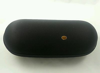 """Black 9"""" Padded Pouch Hard Case Protective Smoking Pipe Storage Carry Zipper"""