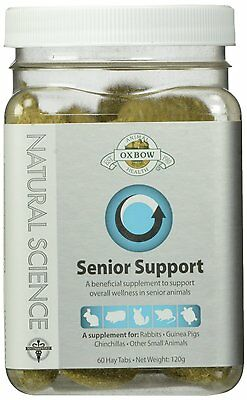 Oxbow Natural Science Senior Support Supplement Little Animal Gerbil Hamster