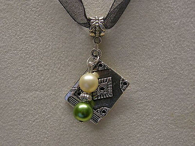 Harry Potter  Book Of Spells ( Slytherin House Pearls )