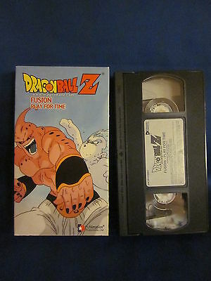 Dragonball Z Fusion Play For Time VHS Unsealed