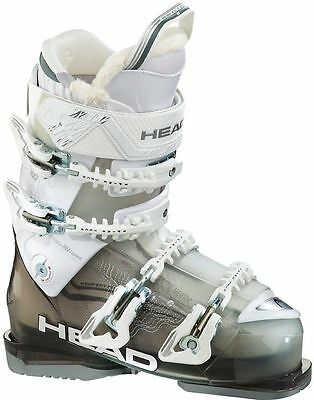 2015 Head Vector 105 W White/Transparent White 24.5 Women's Ski Boots
