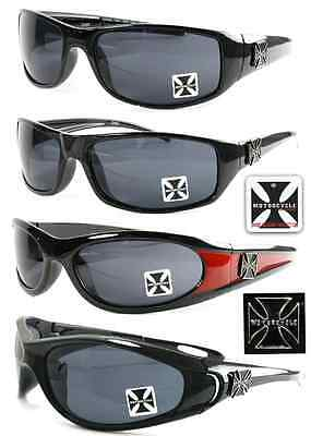 24 Pairs New Men Biker Choppers Sport SUNGLASSES Wholesales Lots Sales Assorted