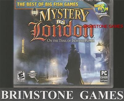 MYSTERY IN LONDON: ON THE TRAIL OF JACK THE RIPPER (PC) Win 8 / 7 / VISTA / XP