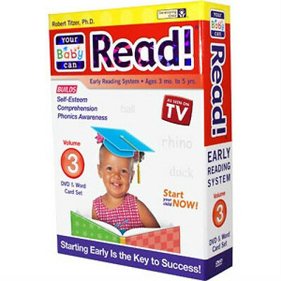 "Dr. Titzer's ""Your Baby Can Read!"": Volume 3 (DVD and Sliding Word Cards)"
