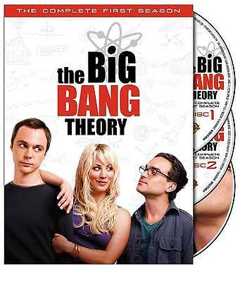 BRAND NEW & SEALED THE BIG BANG THEORY COMPLETE 1ST FIRST SEASON 3-DISC DVD SET