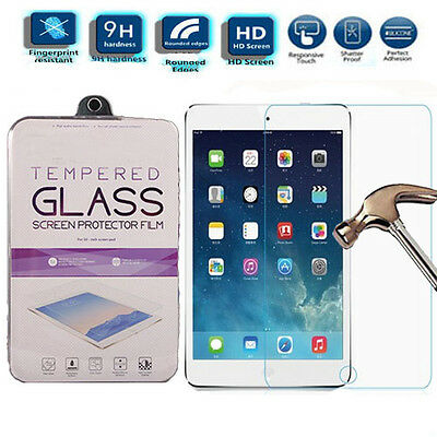 100% Genuine Real Tempered Glass Protection Screen Protector For iPad Mini 1 2 3