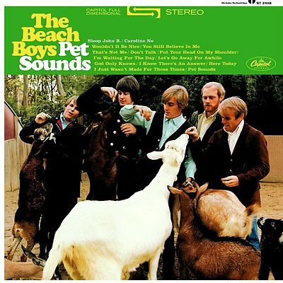 The Beach Boys - Pet Sounds (50th Anniversary) - 180gram Vinyl LP *NEW & SEALED*