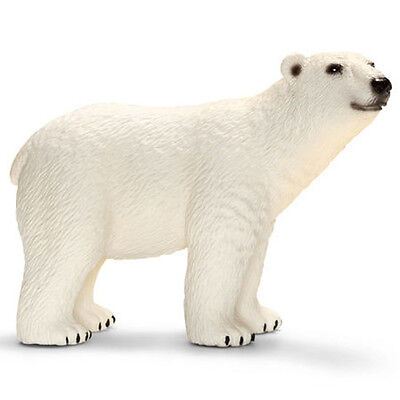 FREE SHIPPING   Schleich 14659 Polar Bear Wild Animal Model Toy - New in Package