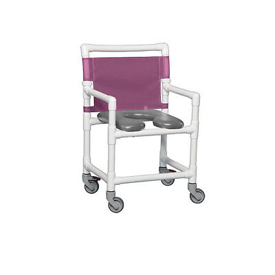 Standard Soft Seat Shower Chair 350 Lbs Gray Seat Wineberry         1 EA