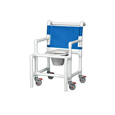 Shower Chair Commode 375# Capacity Blue                        1 EA