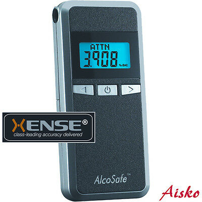 Breathalyzer ALCOSAFE S4 with Xense® Processor. EVT&DECT. User Adjustable Units