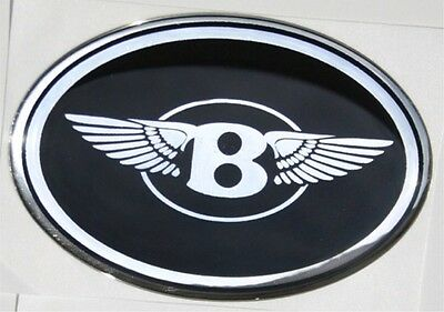 """Chrysler 300 bentley """"B"""" with wings mesh grille grill emblem badge"""
