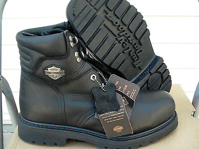 Harley Davidson leather boots NWT size 11 M 91015 Torque Steel Toe