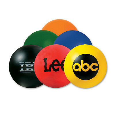 ROUND STRESS BALLS - 150 quantity - Custom Printed with Your Logo
