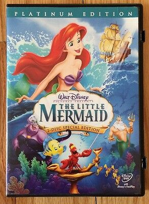 The Little Mermaid (DVD, 2006, 2-Disc Set, Platinum Edition). Disney.