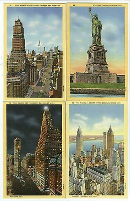 """4 Linen, NYC, """"Park Avenue South, Financial Center of World, Statue of Liberty &"""