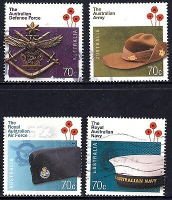 Australia 2014 ADF Australian Defese Force Complete Set of Stamps P Used Sheet