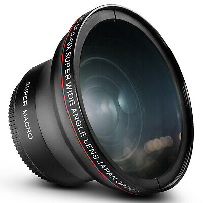 58MM Altura 0.43X HD Wide Angle Lens with Super Macro for Canon T5i T4i T3i XTi