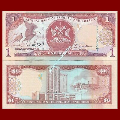 Trinidad and Tobago 1 Dollar 2006 Unc. Pick 46 #