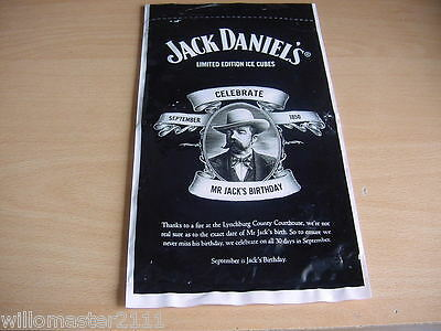 JACK DANIELS ICE Cube Bottles Limited Edition Bag - $2 99