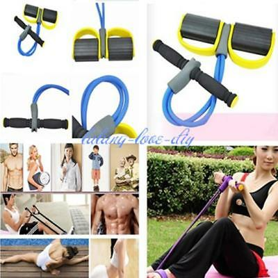 Resistance Band Body Tummy Workout Abdominal Exercise Fitness Yoga Equipment LD