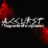Accurst - Fragments of a Nightmare CD DARK AMBIENT RARE