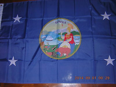 NEW Flag of United States US USA Governor standard of California  Ensign 3X5ft