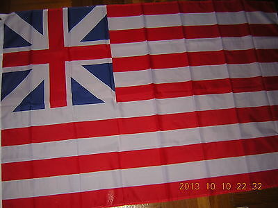 Flag of the Grand Union USA US United States of America 1775-1776 Ensign 3X5ft