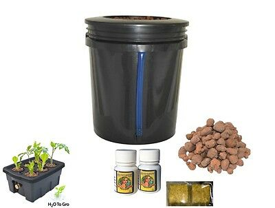 5 Gallon Deep Water Culture Hydroponic bucket by H2OToGro ***** FREE SHIPPING!