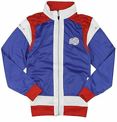 Red Zipway NBA Basketball Youth Los Angeles Clippers Tricot Track Jacket