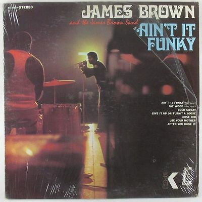 James Brown - Ain't It Funky Now LP - King VG+ Shrink