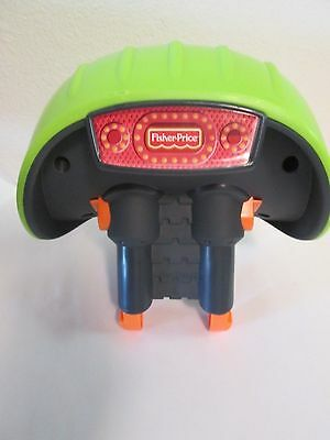 Fisher Price Smart Cycle Replacement Green Plastic Seat VGUC