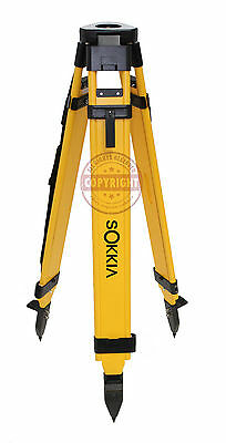Sokkia Heavy-Duty Fiberglass Tripod,Surveying,Trimble,Topcon,Seco,Gps, Robotic