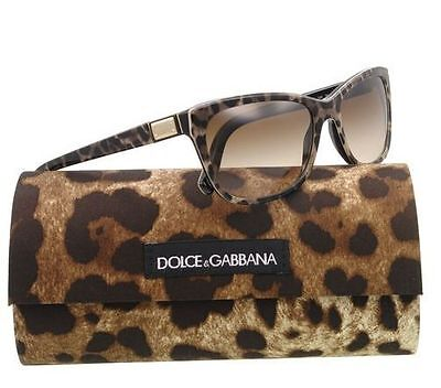 Woman's D&G Leopard Sunglasses DG4123 Very Rare & Hard To Find. MSRP: $350.00
