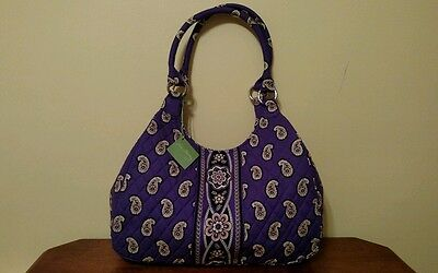 Vera Bradley NWT *Hobo in Simply Violet* Retail $68  Retired /Authentic/Washable