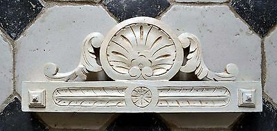 Antique French Pediment Fronton Wall  Above Door or Bed architectural salvage