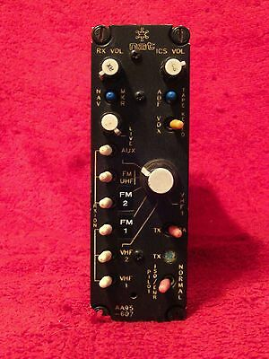 Nat Aa95-607 Audio Controller 28 Vdc