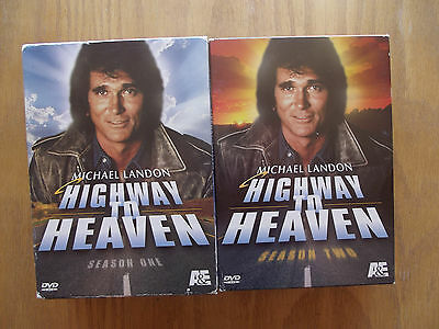 Highway to Heaven - The Complete Season 1 & 2 (DVD, 2005, 6-Disc Set)