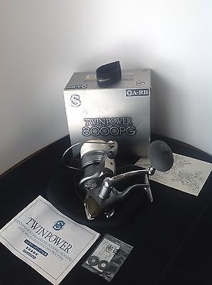 Shimano TWIN POWER 8000 PG Spinning Reel