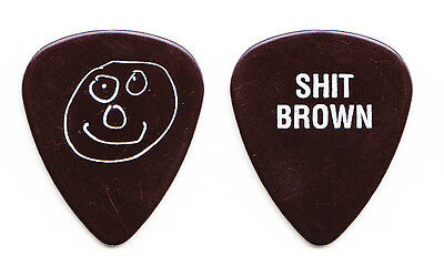 Black Crowes Marc Ford Sh*t Brown Guitar Pick - 1994 Tour