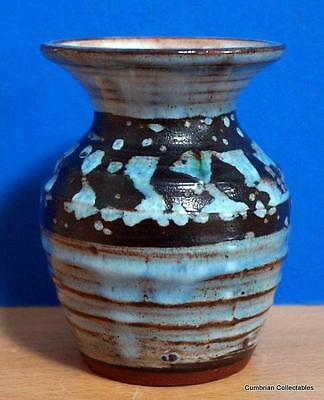 Nice Little Llangollen Studio Pottery Vase - Perfect