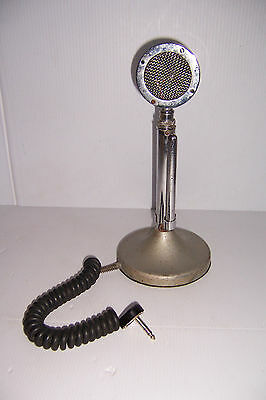 Vintage Astatic  Microphone On G Stand